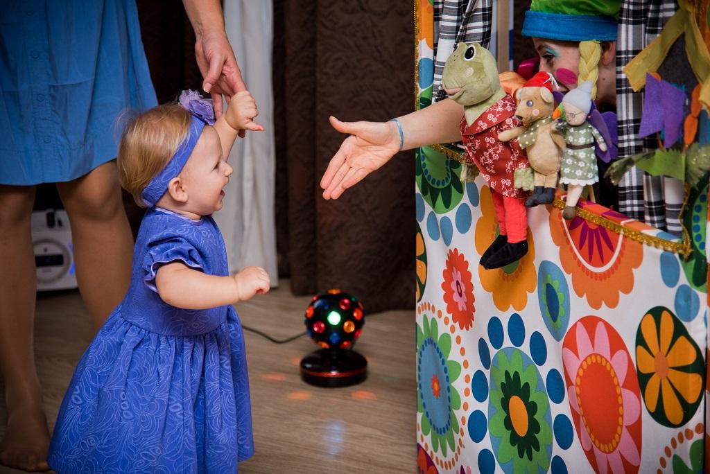 Детские праздники кукольный театр