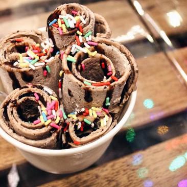 Жареное мороженое